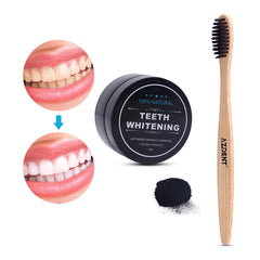 Fashion 30g Teeth Whitening Powder Natural Organic Activated Charcoal Bamboo Toothpaste 10g Natural Coconut Thailand Toothpaste
