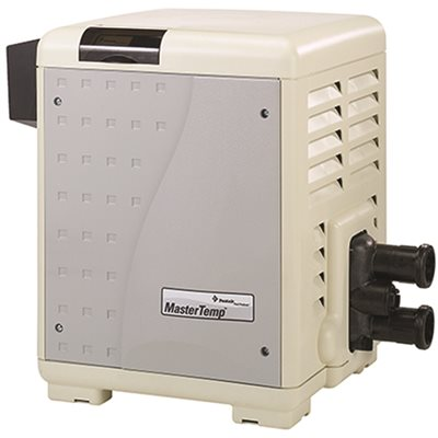 Mastertemp Pentair Mastertemp ASME Heater, 400,000 BTU, Natural Gas, Low Nox