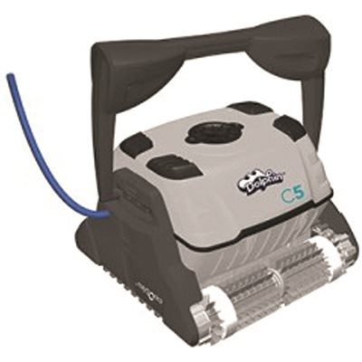 Dolphin Vacuum Robotic Pool Cleaner C-Class Basic Remote 60 ft. Swivel Cable