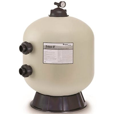 Image of TR100 30 in. Side Mount Fiberglass Sand Filter Without Valve, Triton II, Almond