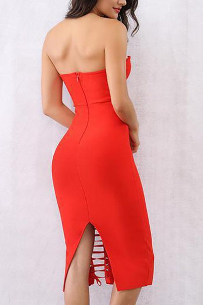 Sexy Off Shoulder Plain Blinding Maxi Dress