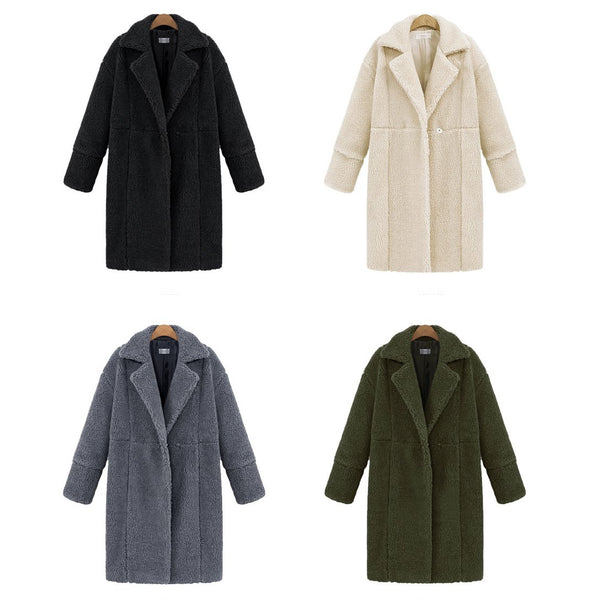 Cashmere Solid Color Coat