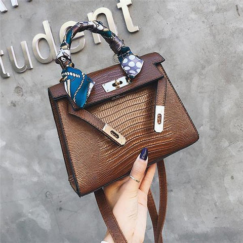 Casual Fashion Nifty Leather One Shoulder Hand Bag