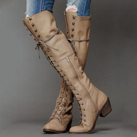 Fashion Hot Saling Winter/Autumn Long Boots
