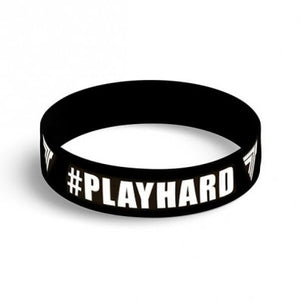 WRISTBAND 086 - PLAYHARD BLACK