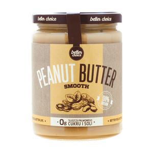 PEANUT BUTTER SMOOTH - 500 g