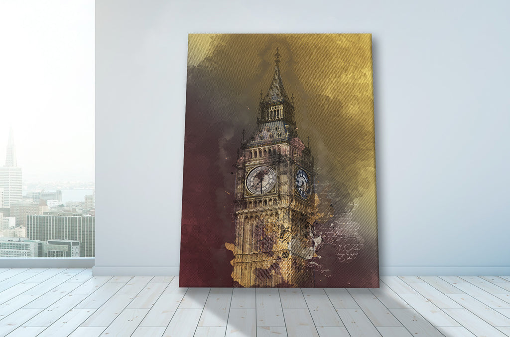 Big Ben Canvas Set