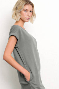 Organic Hemp Side Slit Dress
