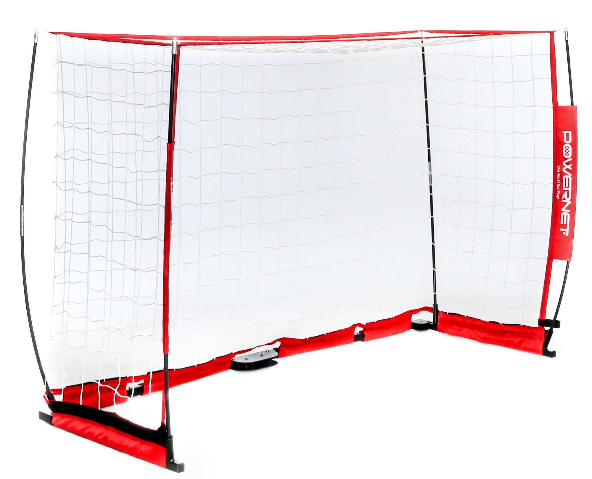 PowerNet 6 x 4 Portable Soccer Football Goal with Net | Base 2 Base Sports