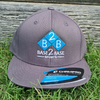 Base 2 Base Sports_Grey Snapback_Hats_Baseball Cap
