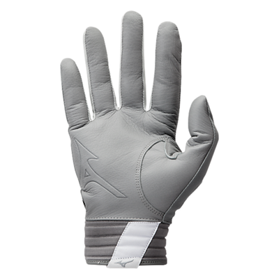 Mizuno Covert Youth Batting Gloves_Grey_Base 2 Base Sports