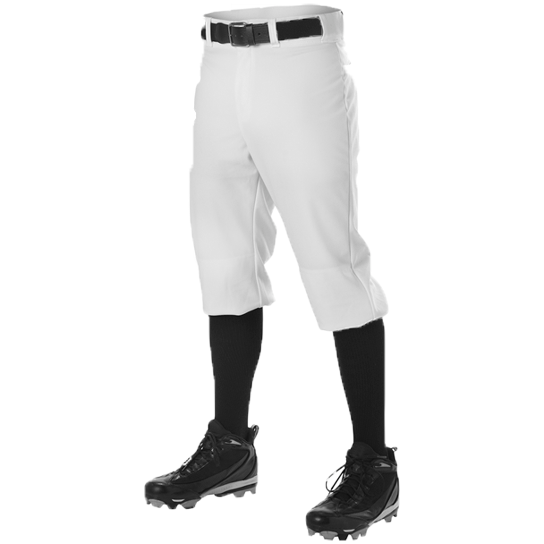 Alleson Athletic Adult Knicker Pants - White