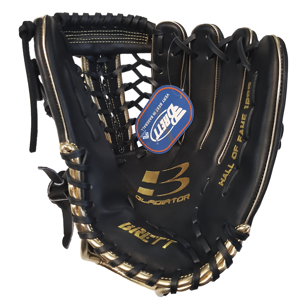 "Brett HOF Series 12.75"" Outfield Baseball Glove"
