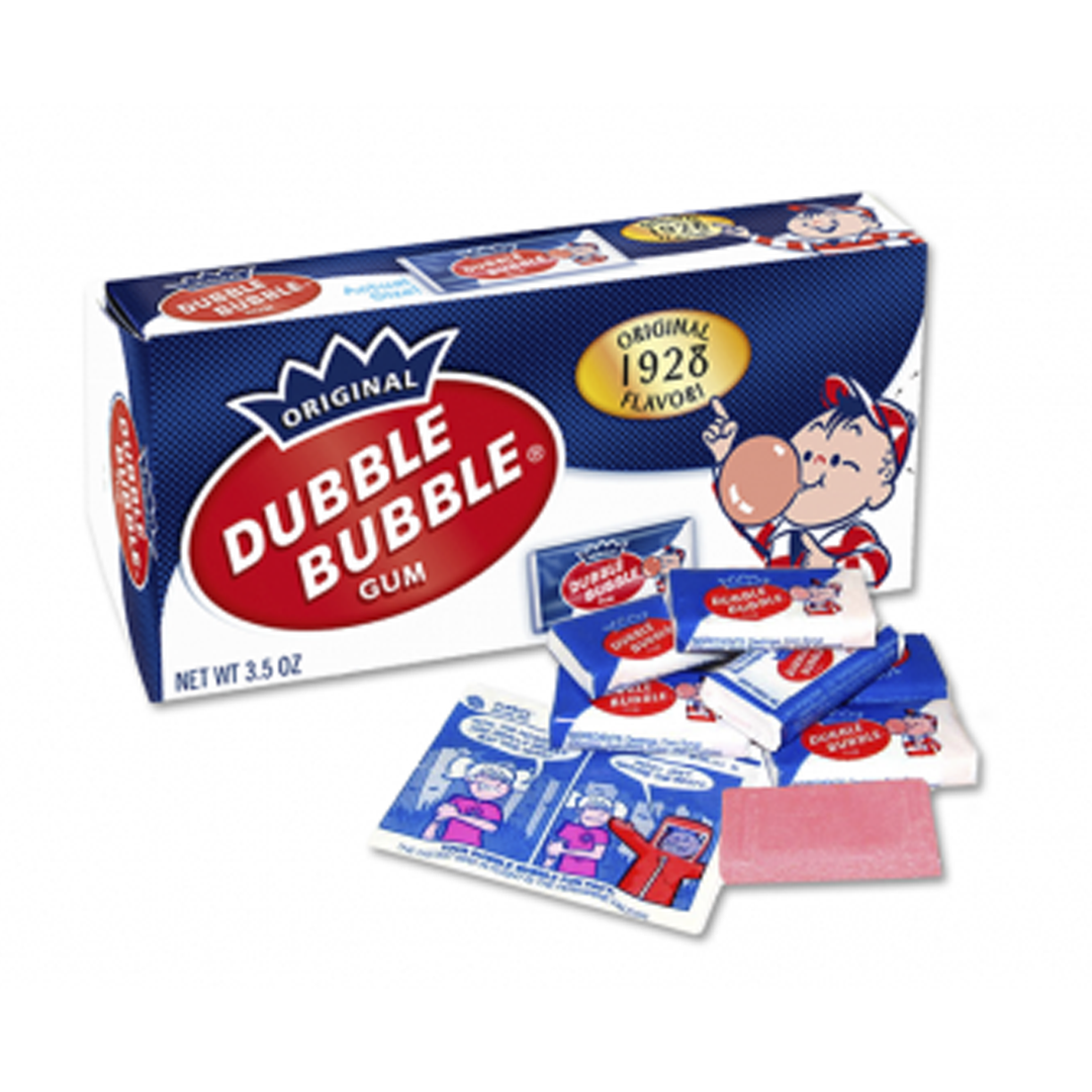Dubble Bubble Gum Box