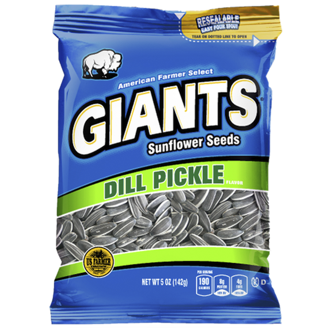 Giants Dill Pickle Sunflower Seeds_Base 2 Base Sports