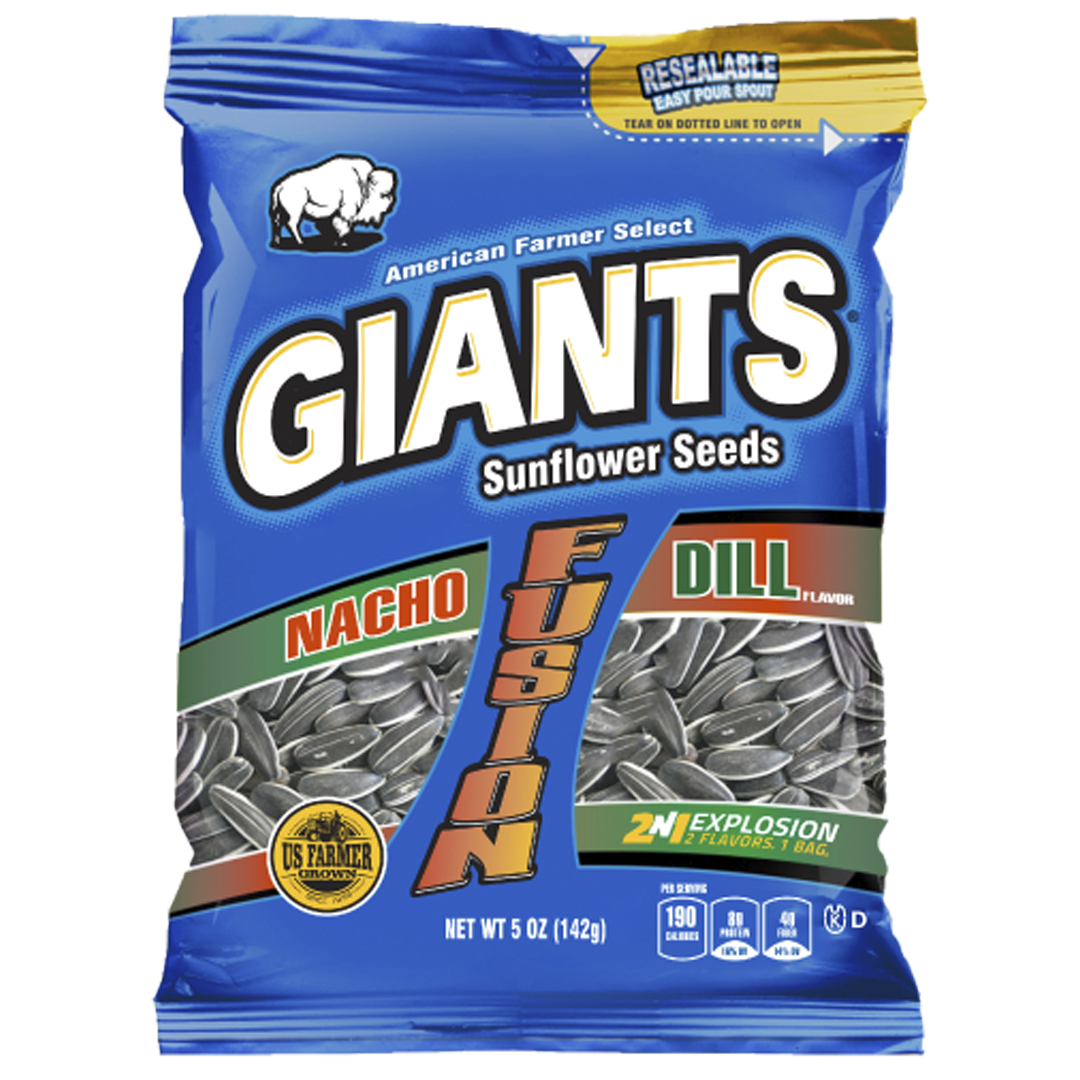 Giants Nacho and Dill Flavor Fusion