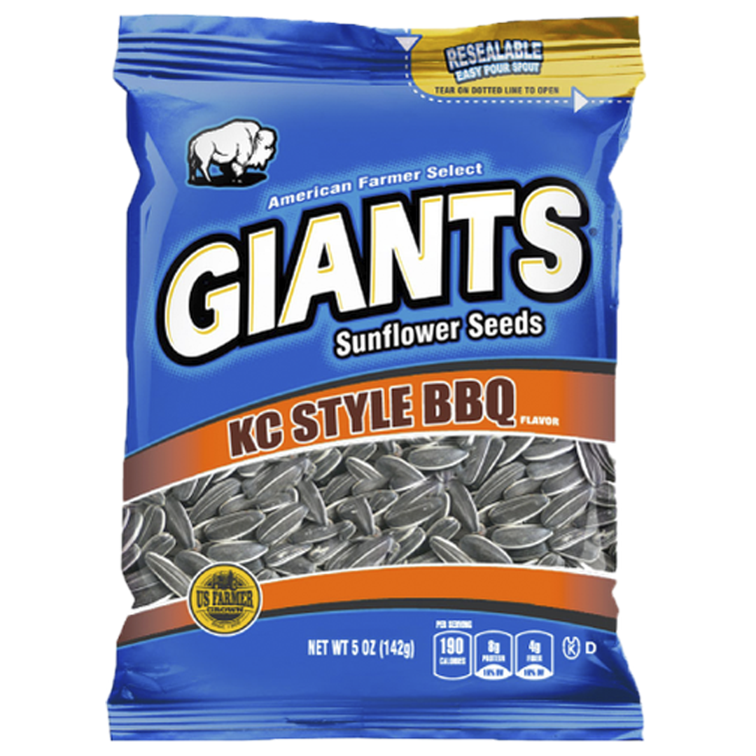 Giants KC BBQ Sunflower Seeds