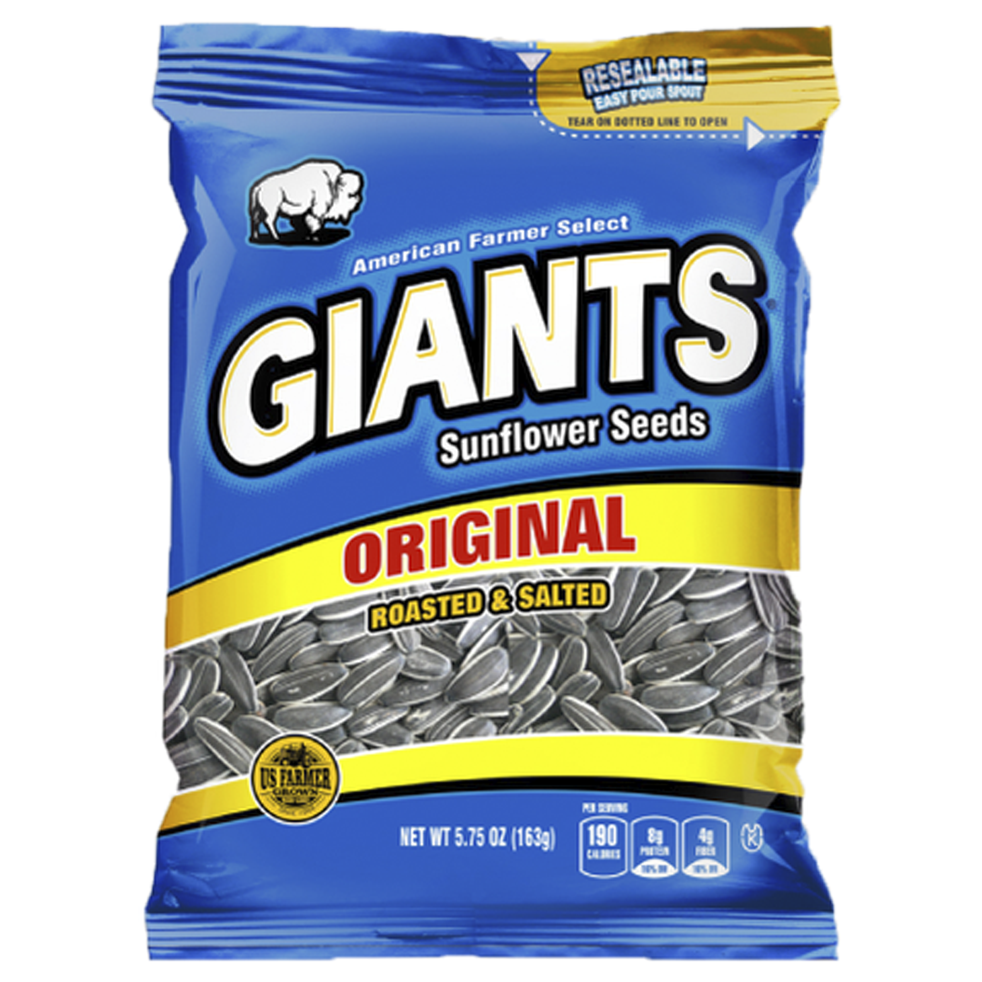 Giants Original Salted Sunflower Seeds