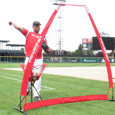 PowerNet A-Frame Pitching Screen | Protection Screen