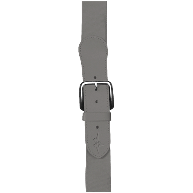 Alleson Athletic Adjustable Elastic Belt - Silver