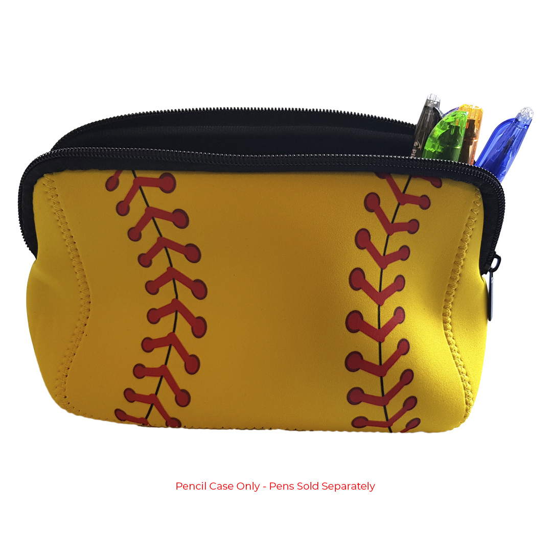 Base 2 Base Sports Softball Pencil Case