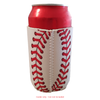 Baseball Design Can Cooler, Baseball Stubby Cooler_Base 2 Base Sports