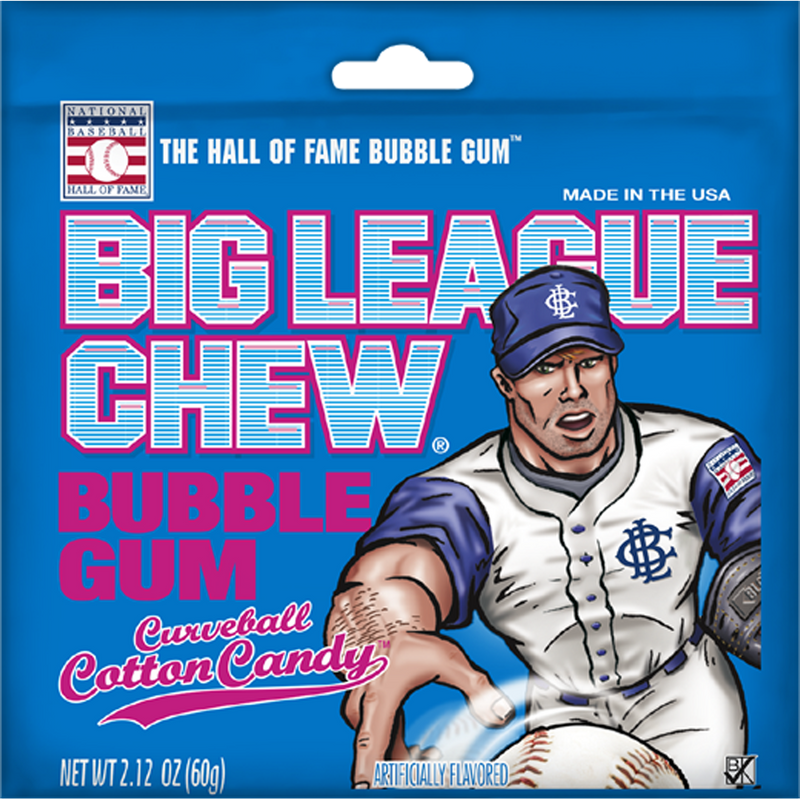 Big League Chew_Curveball Cotton Candy_Base 2 Base Sports