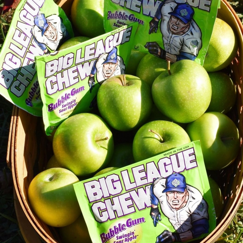Big League Chew_Swingin' Sour Apple_Base 2 Base Sports