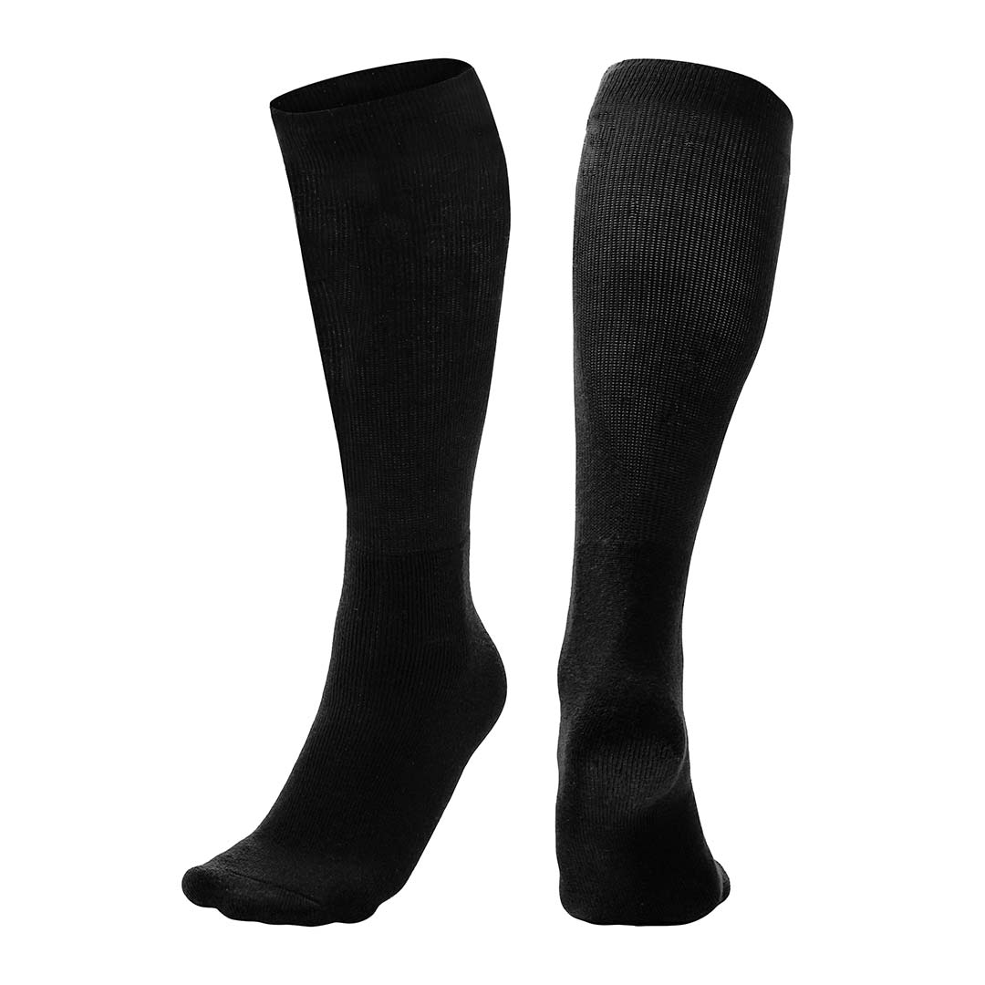 Champro Professional Athletic Socks_Black_AS1B_Base 2 Base Sports