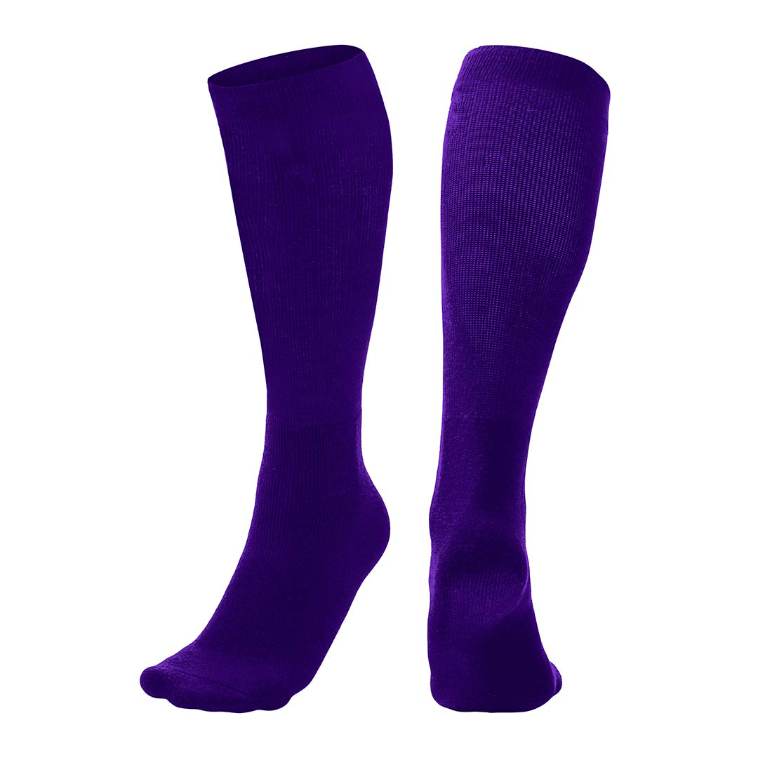 Champro Professional Athletic Socks_Purple_AS1P_Base 2 Base Sports