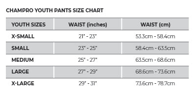 Champro Youth Pull-up Pants_Base 2 Base Pants