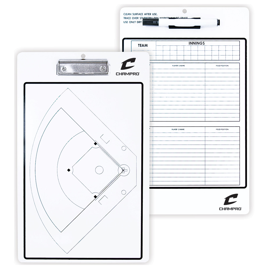 Champro Coach Board Baseball / Softball_Base 2 Base Sports