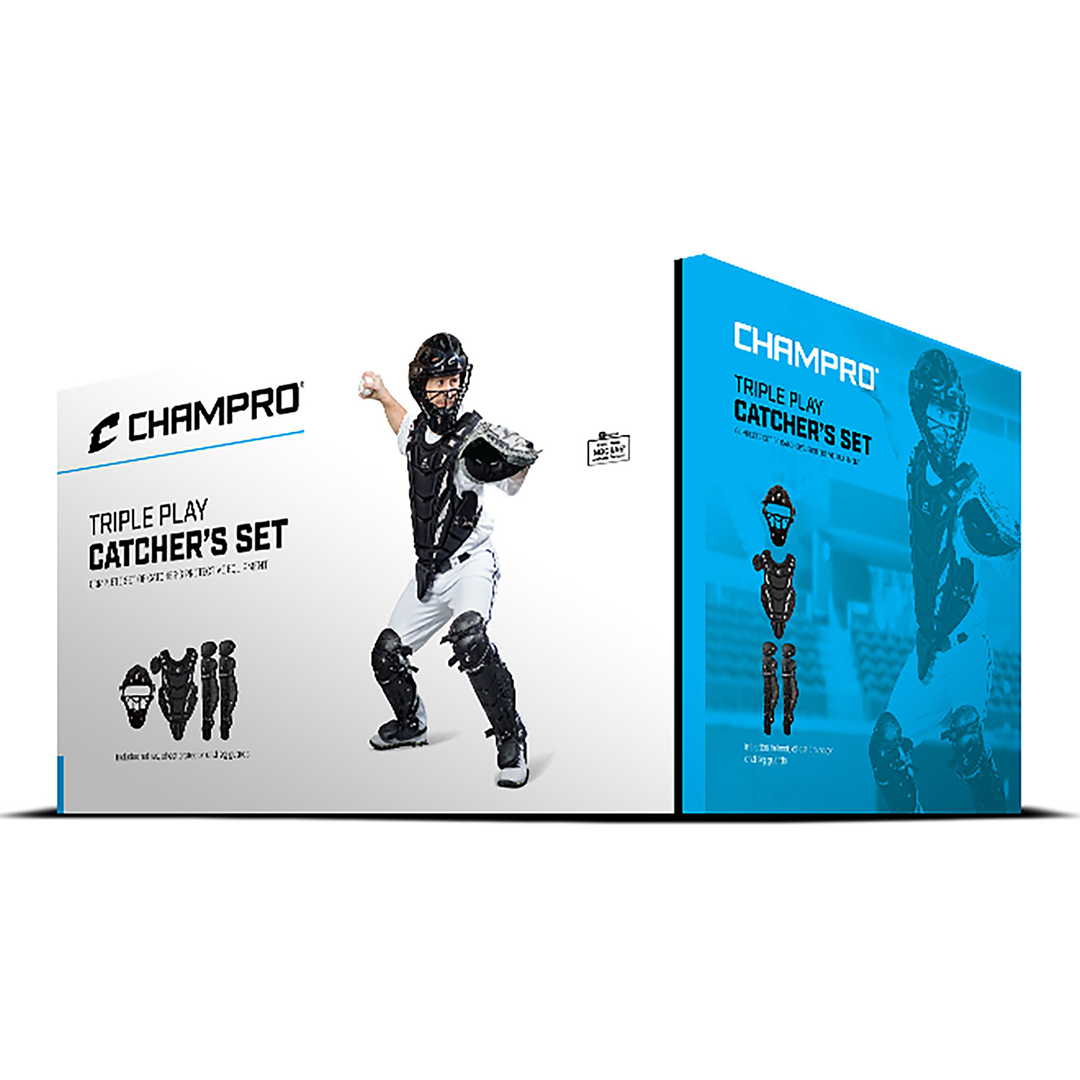 Champro Triple-Play Youth Catcher's Set_Base 2 Base Sports
