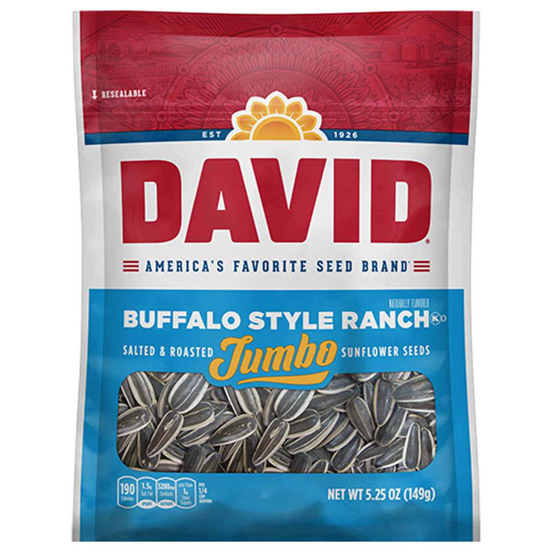 David Sunflower Seeds_Buffalo Style Ranch_Base 2 Base Sports