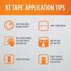 KT Tape_Kinesiology Therapeutic Tape_Black_Base 2 Base Sports