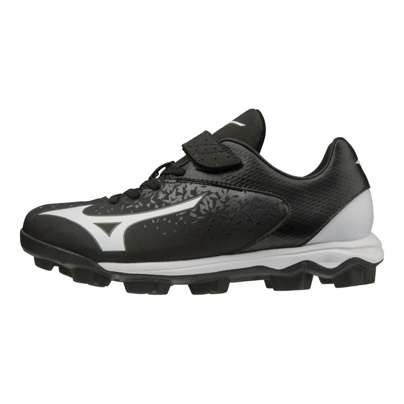 Mizuno 11GP1922 Wave Select 9 Junior Moulded Baseball Cleats_Base 2 Base Sports