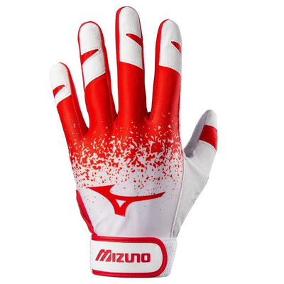 Mizuno Finch Women's Batting Gloves - Red