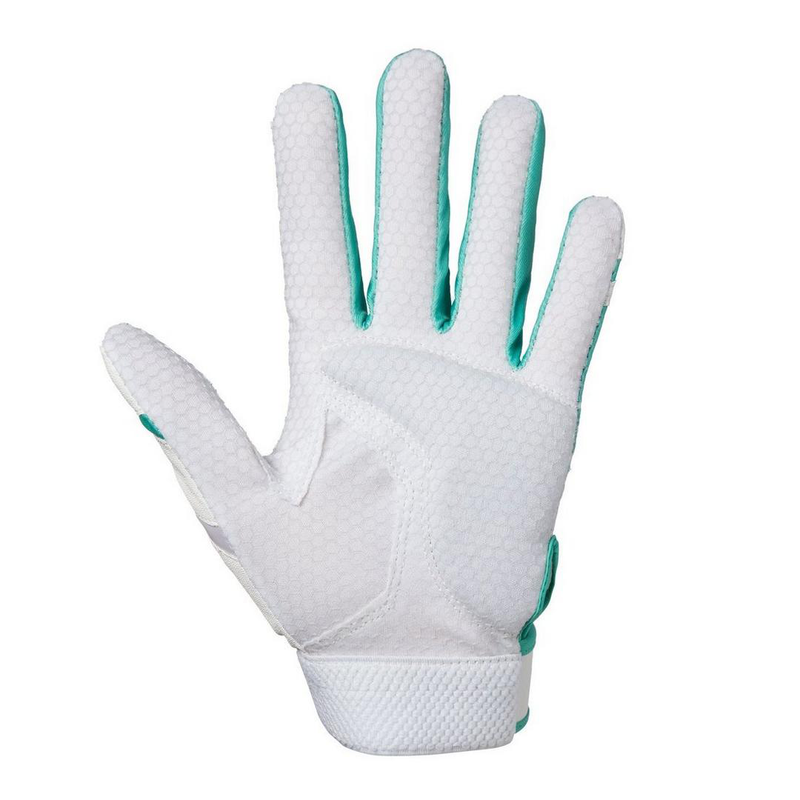 Mizuno Finch Batting Gloves_330412_4D_Mint_front_Base 2 Base Sports