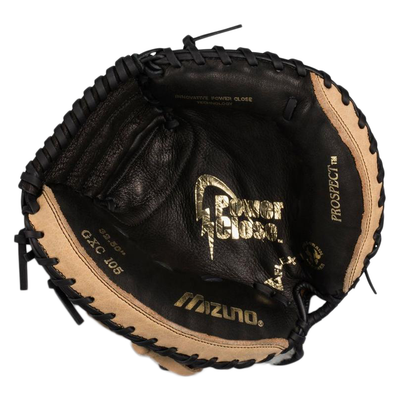 Mizuno Prospect Youth Catchers Baseball Mitt_GXC105_311667_Base 2 Base Sports_palm