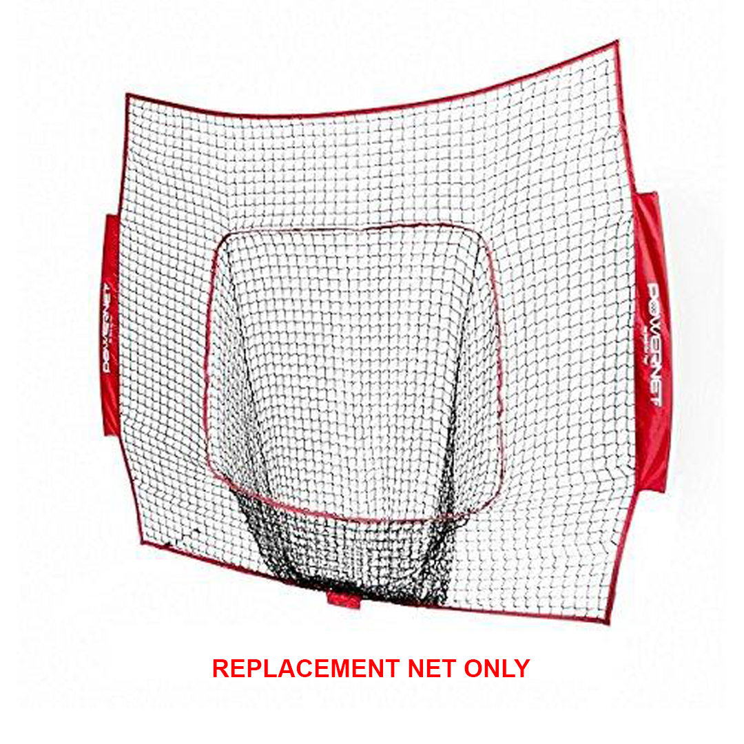 Powernet 7x7 Replacement Net_Red_Base 2 Base Sports