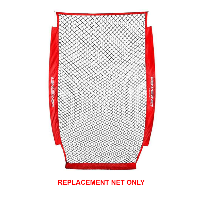 Powernet I-Screen Replacement Net_Red_Base 2 Base Sports