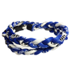 Titanium Braided Baseball Necklace Royal Blue & White_Base 2 Base Sports