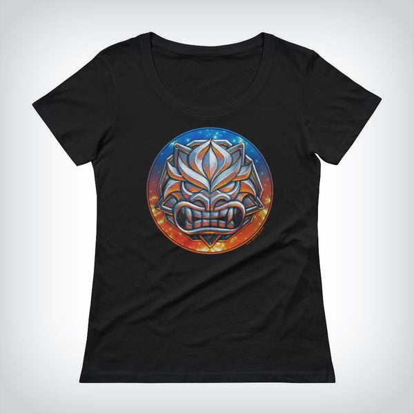 Steel Demon Ladies Scoopneck T-Shirt