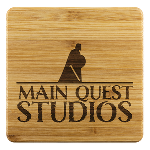 Main Quest Studios Bamboo Coasters