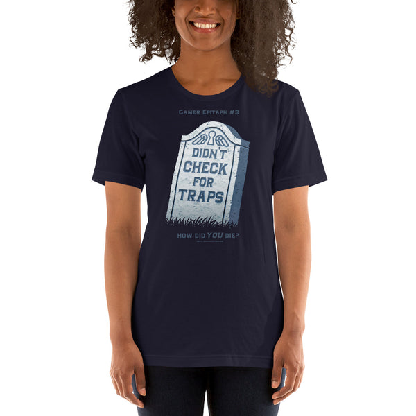 Gamer Epitaph #3 Lightweight T-Shirt: Traps