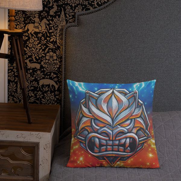 Steel Demon Premium Pillow 18x18