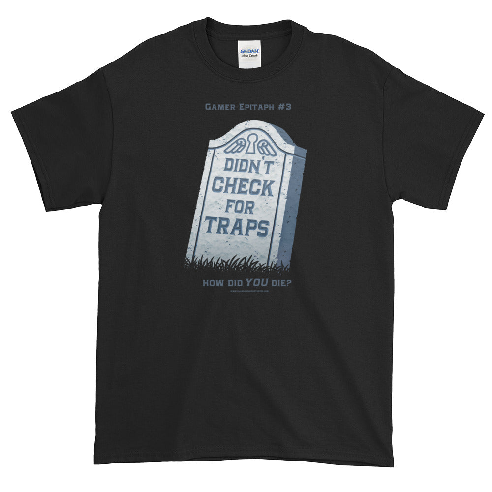 Gamer Epitaph #3 Heavyweight T-Shirt: Traps