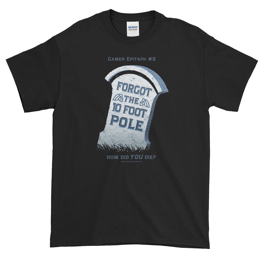 Gamer Epitaph #2 Heavyweight T-Shirt: Pole