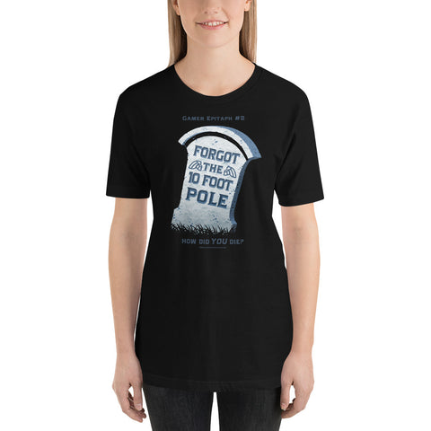 Gamer Epitaph #2 Lightweight T-Shirt: Pole