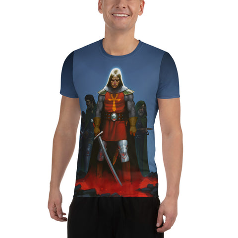 Avatar All-Over Print Men's Athletic T-shirt